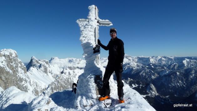 Am Gipfel (2014m)