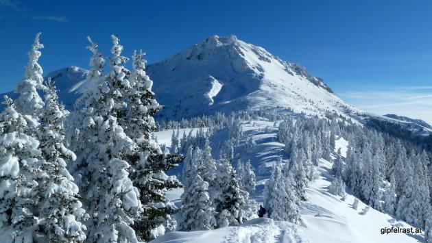 Das Wildfeld - auch ein beliebter Skitourenberg
