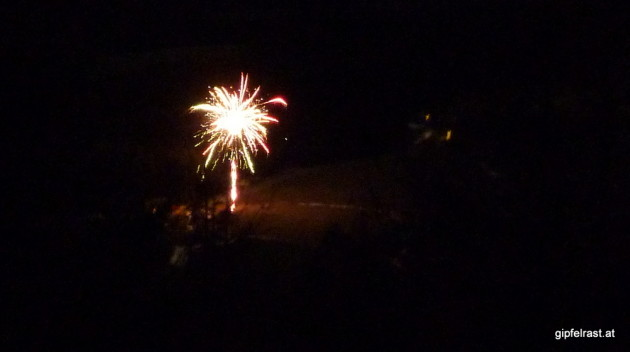 Feuerwerk in Modriach