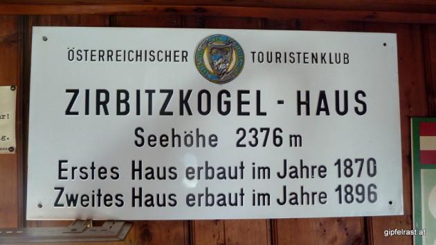 Im Zirbitzkogelhaus wird...