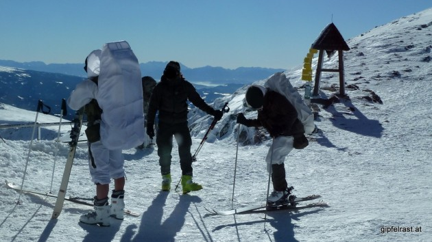 Der letzte Schrei in Sachen Skitourenausrüstung?