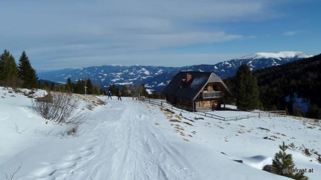 Bei der Linderhütte, weit ist es nicht mehr