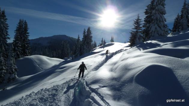 Kitschige Winterlandschaft