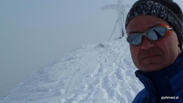 Gipfel-Selbstportrait
