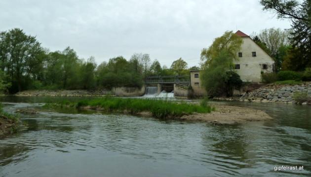 Pertlsteinmühle im Rückblick