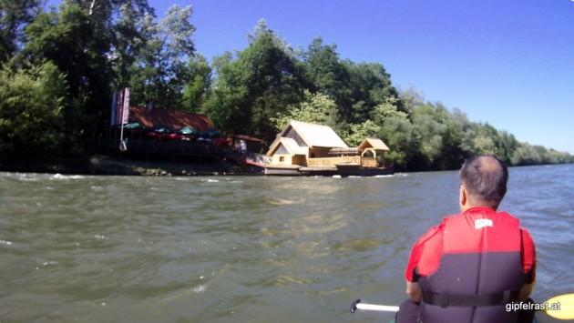 Die frisch renovierte Schiffsmühle bei Mureck