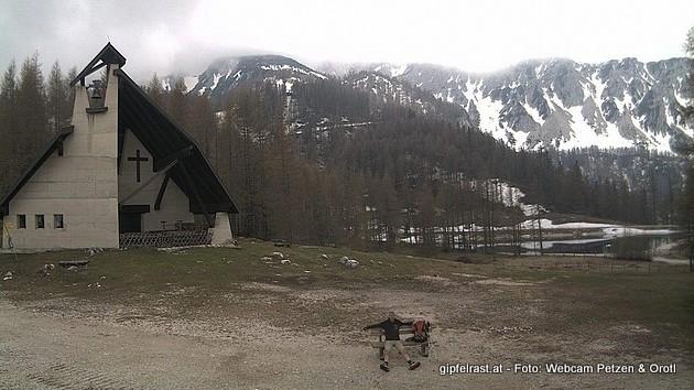 Die Webcam bei der Bergstation
