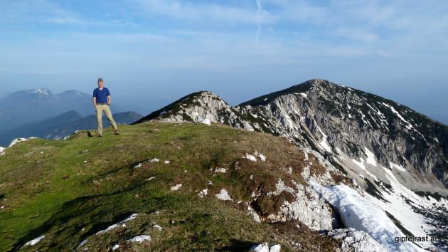 Gipfelfoto am Knieps (2110m)