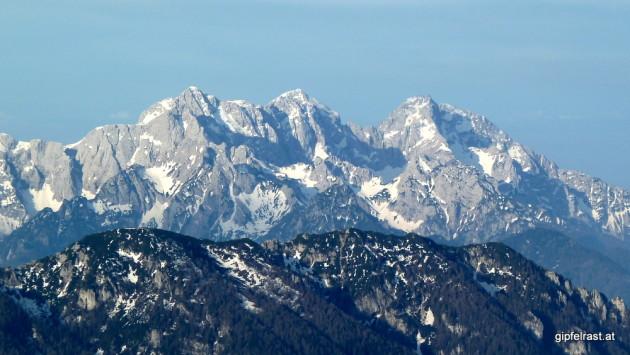 Blick in die Steiner Alpen