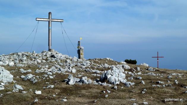 Am Gipfel der Feistritzer Spitze (2113m)