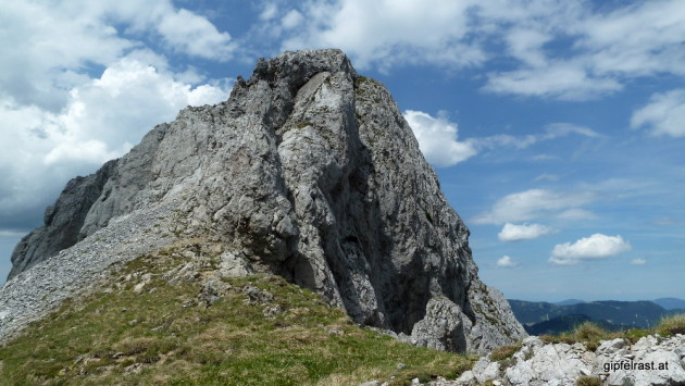 Die raue Seite der Kleinen Mitterbergwand
