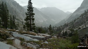 Rainy LeConte Canyon