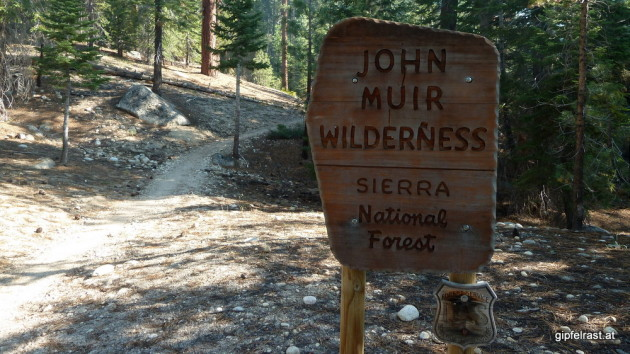 Entering (again) John Muir Wilderness
