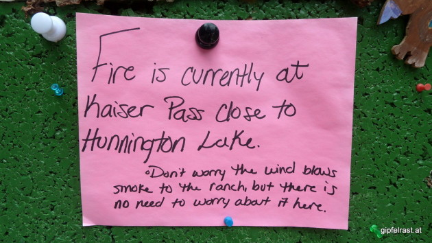 Don't worry! - More fire information