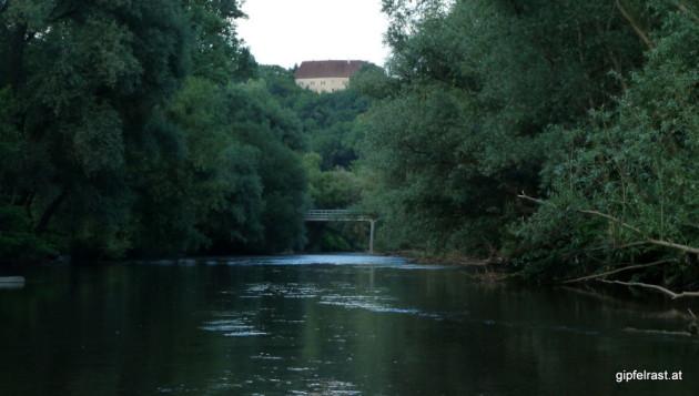In der Nähe von Schloss Seggau