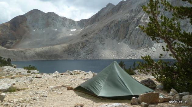 Campsite at Lake Marjorie