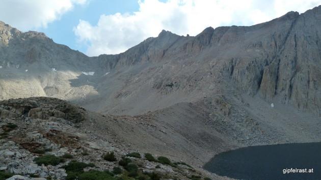 Tomorrow morning's destination: Pinchot Pass