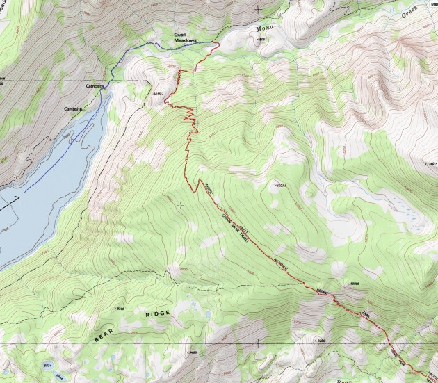 Edison Lake - Bear Ridge - Bear Creek - Selden Pass - Heart Lake (part 1)