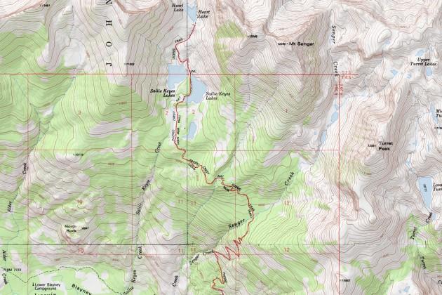 Heart Lake - Muir Trail Ranch - San Joaquin River - Evolution Valley (part 1)