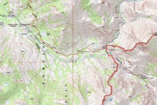 Heart Lake - Muir Trail Ranch - San Joaquin River - Evolution Valley (part 2)