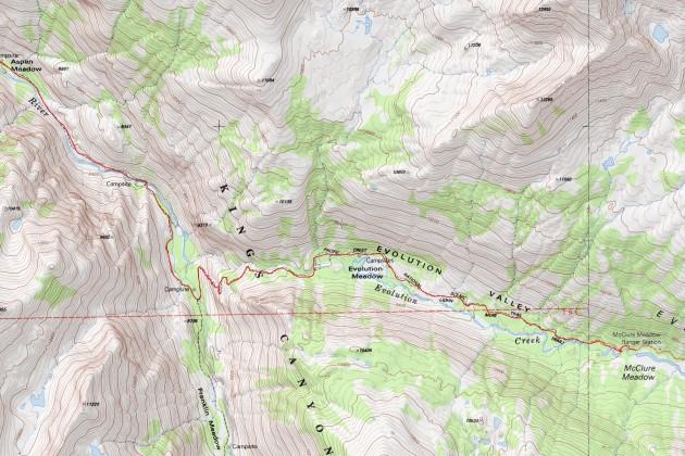 Heart Lake - Muir Trail Ranch - San Joaquin River - Evolution Valley (part 3)
