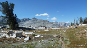 The John Muir Trail: An 'easy' trail through impressive scenery