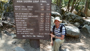 At the northern JMT Terminus