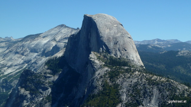 Half Dome close-up