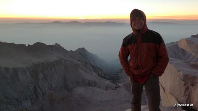 Lars on the summit