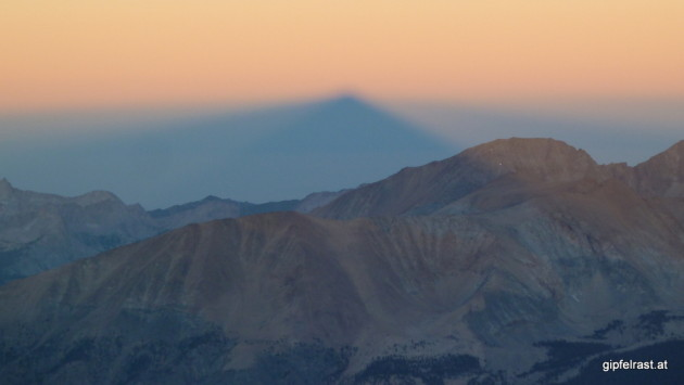 The Shadow of Mount Whitney