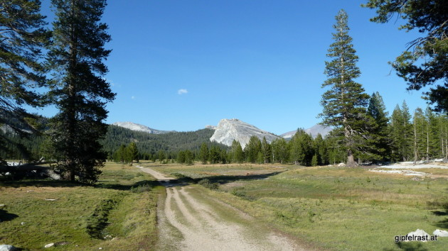 The JMT at Tuolumne Meadows
