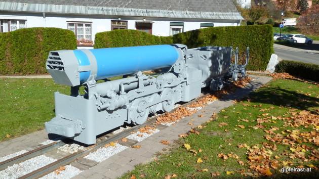 Cruise Missile oder Bergbaurelikt?