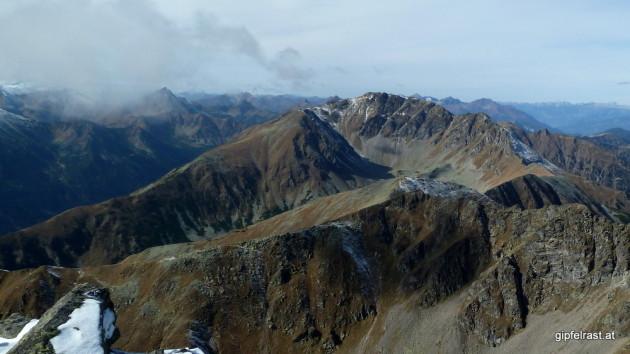 Blick zum Geierhaupt (2417m)
