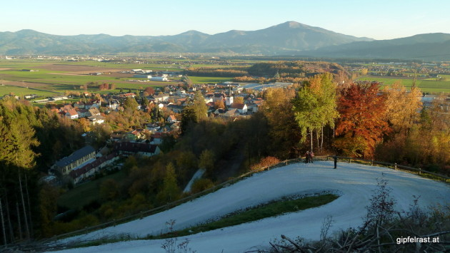 Blick auf Fohnsdorf
