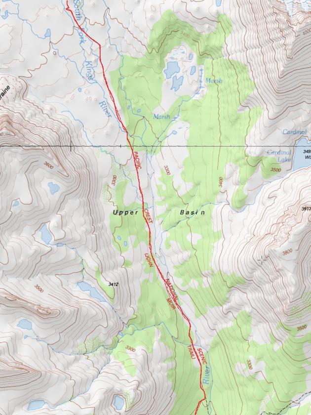 Upper Palisade Lake - Mather Pass - Great Basin - Kings River - Lake Marjorie (part 2)