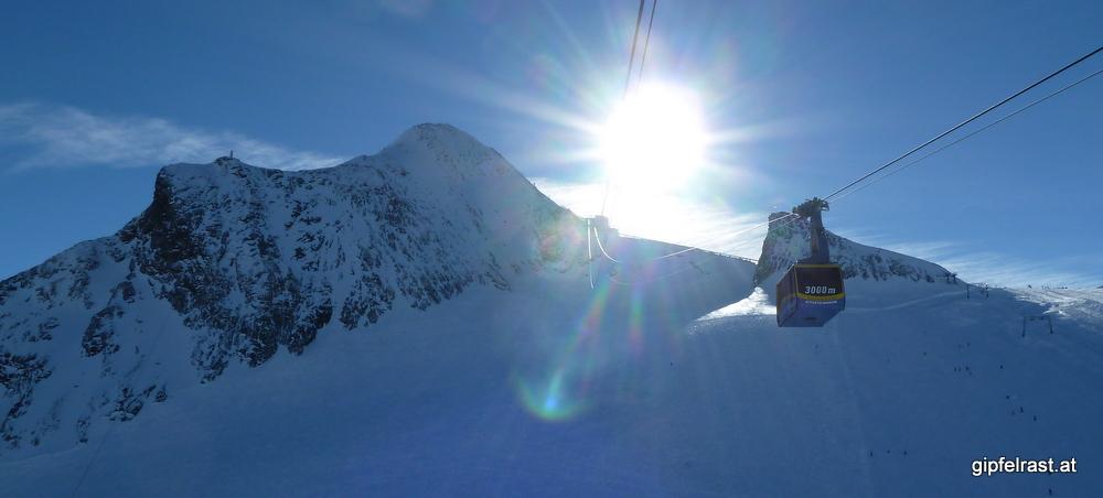 Blitzbesuch am Kitzsteinhorn (3203m)