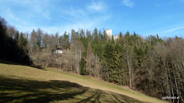 Die Ruine Waldstein