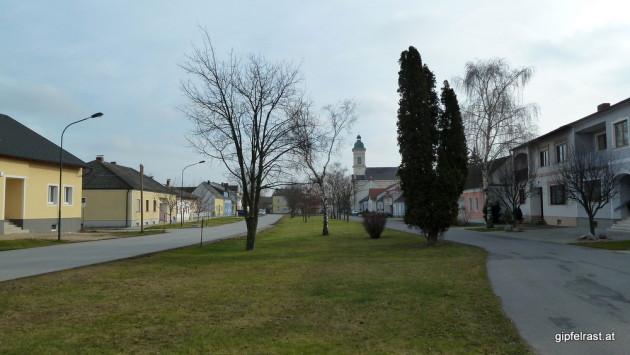 Ortskern von Deutsch Jahrndorf