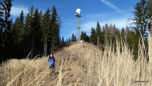 Die Radarstation auf der Reicherhöhe