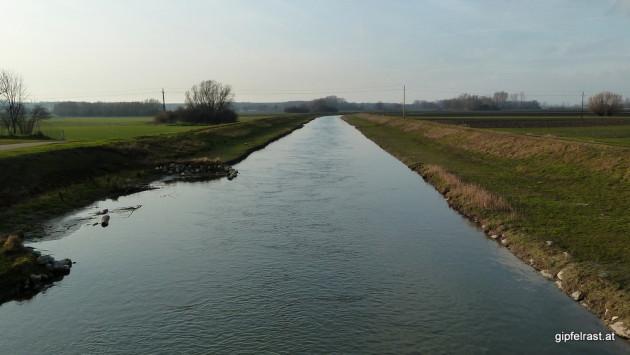 Die kanalisierte Leitha