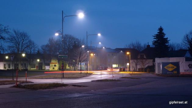 Nickelsdorf bei Nacht