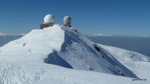 Die Radarstation am Großen Speikkogel