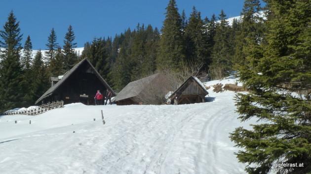 Bei der Bärentalhütte