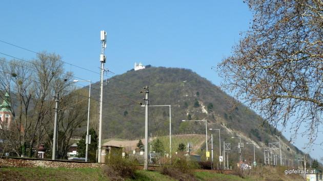 Erstes Ziel: der Leopoldsberg