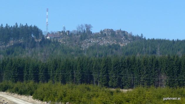 Der Nebelstein mit der Nebelsteinhütte