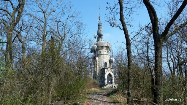 Die Habsburgwarte am Hermannskogel - on top of Vienna