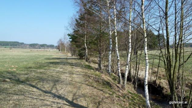 Unsere Asphaltvermeidungsstrategie: Der Wultschaubachwanderweg