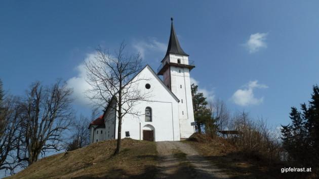 Die Kirche Sv. Pankracij (St. Pongratzen)