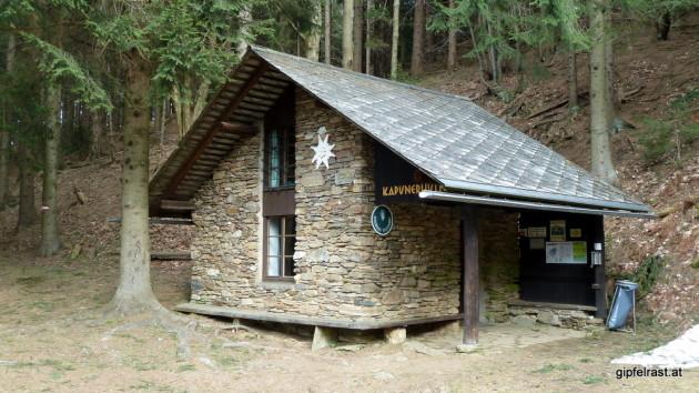 Die Kapuner Hütte