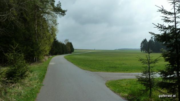 Überlandstrecke nach Buchbach